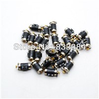 20PCS Canon 4 Wire 2 Phase Mimi stepper motor micro stepper motor D6xH11mm with small Copper gear