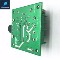 10V-40V 10A DC Motor Speed Controller Switch Governor PWM Infinitely Variable Speed Regulator High Efficiency