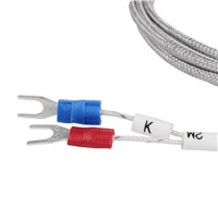 Stainless Steel Probe Temperature Controller Sensor K Type Thermocouple Tube with 2m Wire Cable