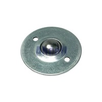 CY-25B 2 screws holes mount disc Ball transfer unit 30kg load capacity BCHE55 CY25B round flange ball-transfer-units ball roller