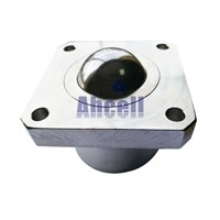 Ahcell SI-30 ball bearing wheel ball-transfer-units roller caster 300kg load capacity SI30 Square Flange Ball transfer unit