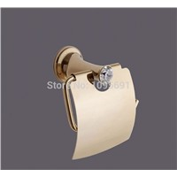 Gold Polished Toilet Paper Holders  Paper Roll Rack golden toilet paper holder paper towel holder-MD-9322