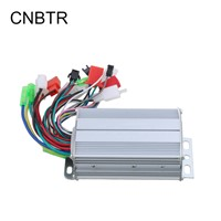 CNBTR 36V 350W Electrocar Brushless Motor Controller Aluminium Slivery