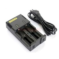 Nitecore Intellicharger i2 Battery Charger for 26650/22650/18650/17670/18490/17500/17335/16340/CR123A/14500/10440 Battery
