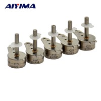AIYIMA 5pcs 5V 7mm 2 Phase 4 Wires Mini Step Motor Lead Screw With Slider For Digital Products Home Appliances