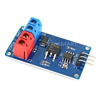 FDD8447L Mosfet Module Mosfet Switch module High-Current DC Fan Driver Motor Driver LED Strip Driver Steples Speed for Arduino