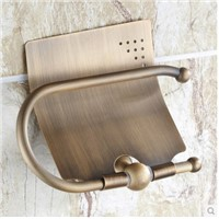 Meters antique toilet paper holder copper paper towel holder roll tissue box bathroom hardware