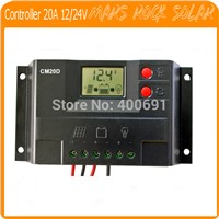 20A 12V/24V intelligent, multi-purpose solar charge and discharge controller.