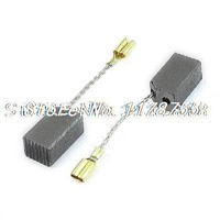 2 x Motor Electric Carbon Brush 14mm x 8mm x 7mm for Dewalt 100 Angle Grinder