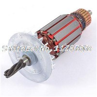 AC 220V Electric Motor Rotor 5 Teeth Drive Shaft for Bosch 24 Impact Drill