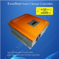48v intelligent charge controller 50a pwm solar charge controller