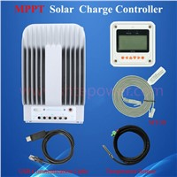 40a solar system controller, mppt 12v/24v portable solar charger regulator, micro 12v 24v regulator 40amp