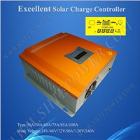 Hot solar charge controller 96v, 75a control charge solar, high quality solar panel regulator