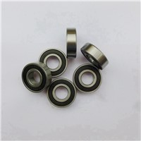 100pcs/lot   607-2RS  607RS  607 2RS  miniature rubber sealed deep groove ball bearing  7x19x6 mm