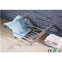 baby product heating stainless steel towel basket electric clothes drying rack towel warmer HZ-902A