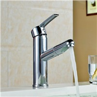pull out basin mixer sink tap copper basin faucet water taps vanity washbasin faucet bathroom faucet