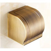 Bathroom brass Paper Towel Waterproof Wall Mounted Paper Holder Bathroom Porta Papel Higienico Industrial Toilet Paper Holder