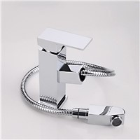 bathroom sink faucet pull out basin faucet with hand shower pull out spray basin water tap basin mixer