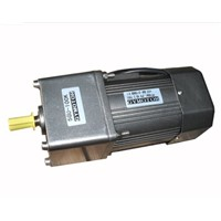 AC 220V 60W Single phase Constant speed motor with gearbox. AC gear motor,