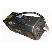 AC 220V 250W Single phase regulated speed motor with gearbox. AC 220V gear motor,