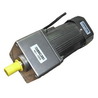 AC 220V 180W Single phase regulated speed motor with gearbox. AC gear motor,