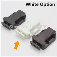 56*40*16mm ABS Plastic magnetic touch bead super suction Elastic Beetle Style  Black/White/Brown