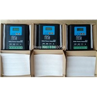 50A 60V Solar Charge Controller, Home Use 60V Battery Regulator 50A for 3000W PV Solar Panels Modules, LED&LCD Display