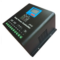 High Voltage 192V 30A Solar Charge Controller,192V Battery Regulator 30A for 6000W PV Panels Modules, Dual-fan cooling