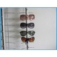 NOC-A-12PC-90CM Without Lock Hold 12 Pcs Metal Wall-Mount Eyeglasses Stand Display Rack