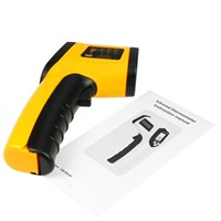 Outdoor Thermometer  Digital Thermometer Thermal Camera Imager Handheld Non-contact Ir Laser Infrared Temperature Gun Gm320