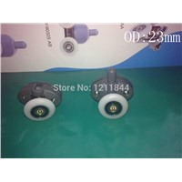 OD:25MM Shower pulley accessories old roller door crane wheel Double holes pulley