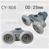 Shower room pulley bathroom roller glass door wheels arc shower room wheel 22mm-25mm