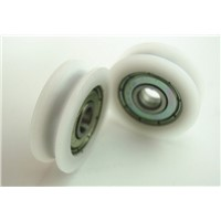 10pcs 625ZZ V Groove Ball Bearings Vgroove 5 x 24 x7mm High quality Nylon Wheel door pulley and window pulley