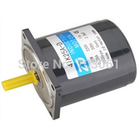 40W AC induction motor 2-PLES high speed AC gear motors AC induction gear motors without gearbox output speed is 1350 rpm
