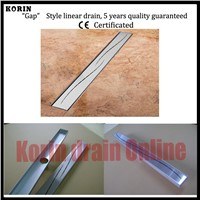 "900mm ""Slim"" Style Stainless Steel 304 Linear Shower Floor Drain, Vertical Shower Drain, Floor Waste,Shower channel"