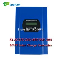 96V 20A MPPT solar charge controller,  48V 96V auto work, solar charger LiFePO4 Gel Vented ,Sealed,Gel,NiCd LCD RS232