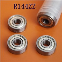 200pcs  R144ZZ  shielded bearings inch 1/8 x 1/4 x 7/64 miniature ball bearing 3.175 x 6.35 x 2.78 mm