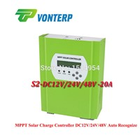 48V (maximum power point tracking   Off-grid 20A MPPT solar charge controller