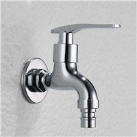 G1/2 New Garden Washing Machine Water Tap Brass Faucet Polished Chrome plate Finish