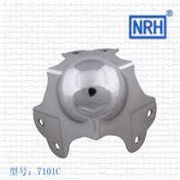 NRH 7101C cold-rolled steel ball corner Factory direct sale high quality corner bracket flight case cornerite chrome finish