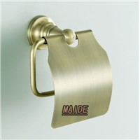 European Antique Bronze Toilet Paper Holder with Cover ,paper Rack,bathroom Accessories Products