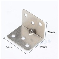 4pcs 29*29*36mm nickel finish Iron angle bracket T shape frame board support