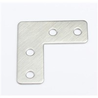 100pcs 39*39*15mm stainless steel plain angle bracket satin finish frame board support