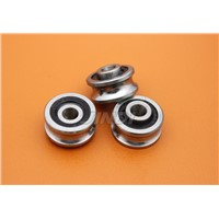 The outer ring groove U embroidery machine special guide wheel bearing SG15/V17RS 5*17*8mm