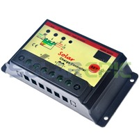PWM 20A Solar Charge Controller 12V/24VDC AUTO Battery Regulator with Light&Timer Function Solar Charger Controller