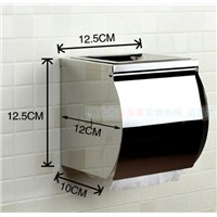 Bathroom Accessories Furniture Hardware Accessories thickened 304 stainless steel Waterproof Paper Towel Box With Ashtray