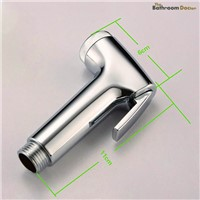 High-grade ABS  Handheld Bidet Sprayer With Holder and 1.2m Stainless Steel Hose 02-086