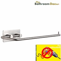 Stainless Steel Tissue Holder Kitchen Paper Holder 3M Self Adhesive, Towel Rack 08-052