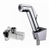 Hand held Bidet Shower set Portable bidet spray faucet shattaf  with 1.2m hose ducha higienica 02-060v