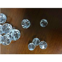 8mm pineapple type Clear crystal ball for optical fiber chandelier/curtain Pendant